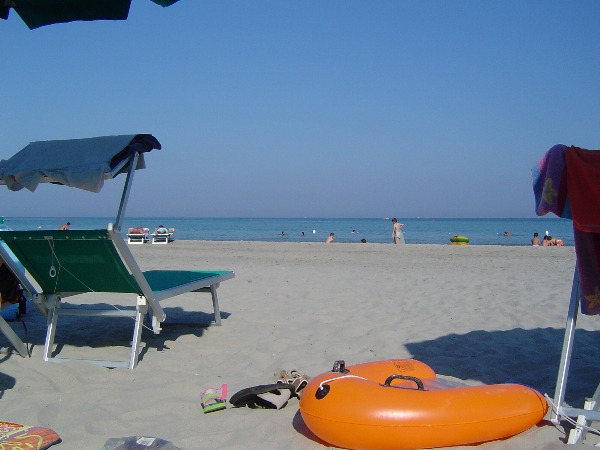 Spiaggia convenzionata Alimini, Otranto, Lecce