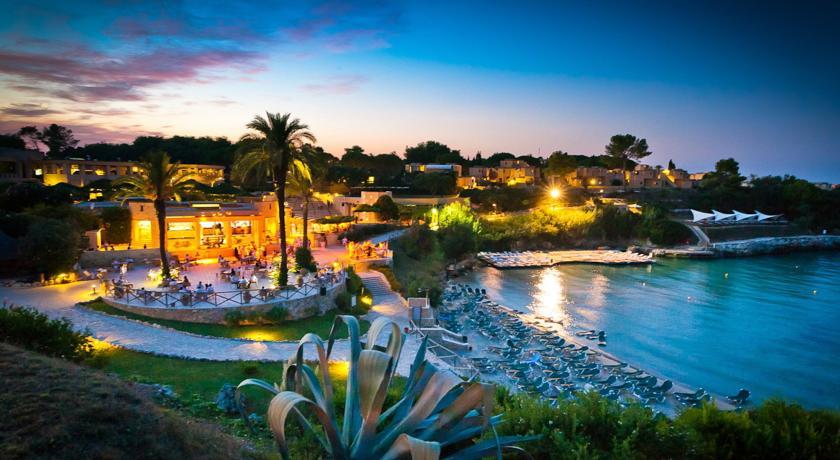 Vista su Le Cale d Otranto Beach Resort, Lecce