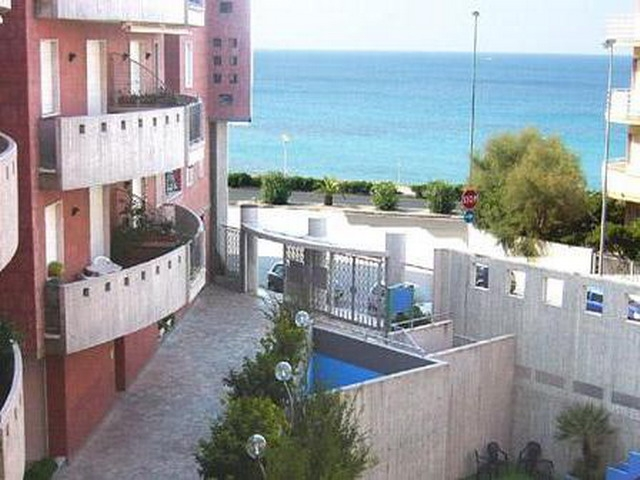 Vista mare dal residence Baia blu gallipoli