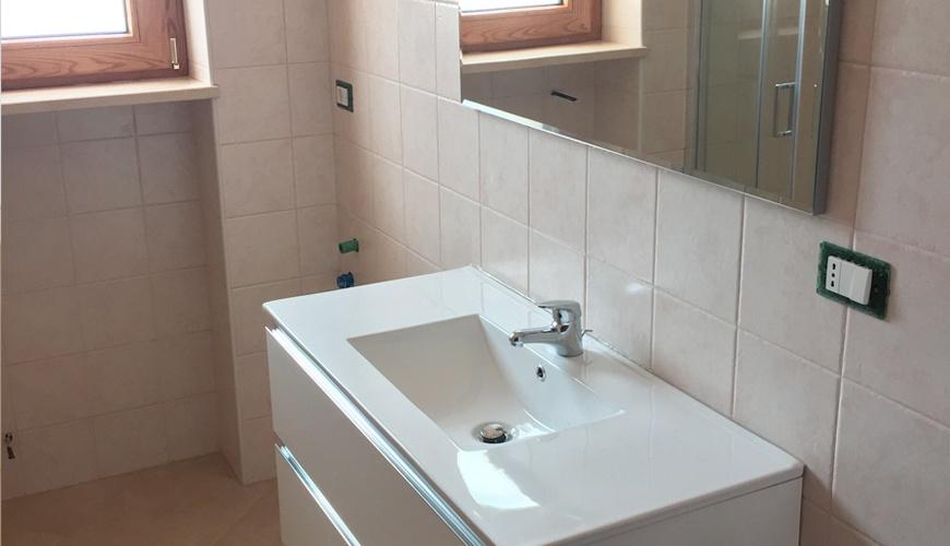 Bagno interno lavandino