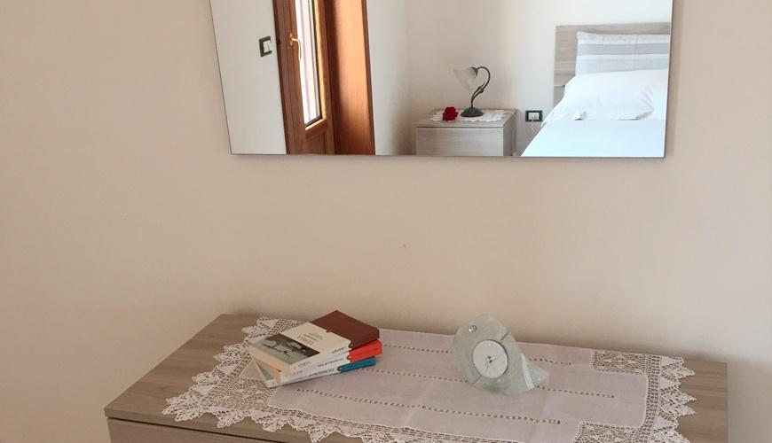 Camera da letto matrimoniale - Dettaglio