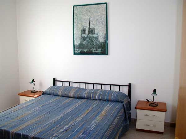 Camera da letto Residence Torre del Mito, Santa Cesarea, Lecce