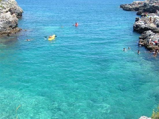 Mare cristallino Santa Cesarea Terme, Lecce