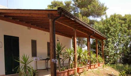 veranda appartamenti masseria alpigiana, Vitigliano, Santa Cesarea Terme, Lecce