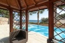gazebo piscina giardino