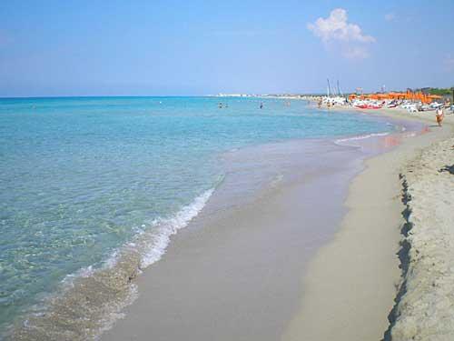 Spiaggia di Torre Mozza, Lecce