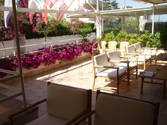 Terrazzo hall Hotel degli Haethey Otranto