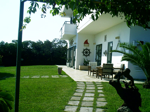 Esterno appartamenti Residence Puntacassano