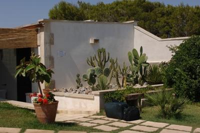 Ingresso appartamento Residence Puntacassano san Foca, Lecce