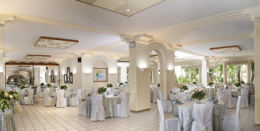 Sala ristorante Hotel Isola Lo Scoglio Porto Cesareo, Lecce