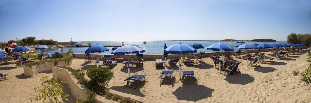 Spiaggia Hotel Isola Lo Scoglio Porto Cesareo, Lecce