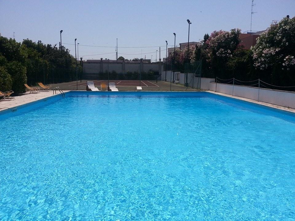 piscina della dimora storica Nostra Signora dei Turchi a Giurdignano (Lecce)