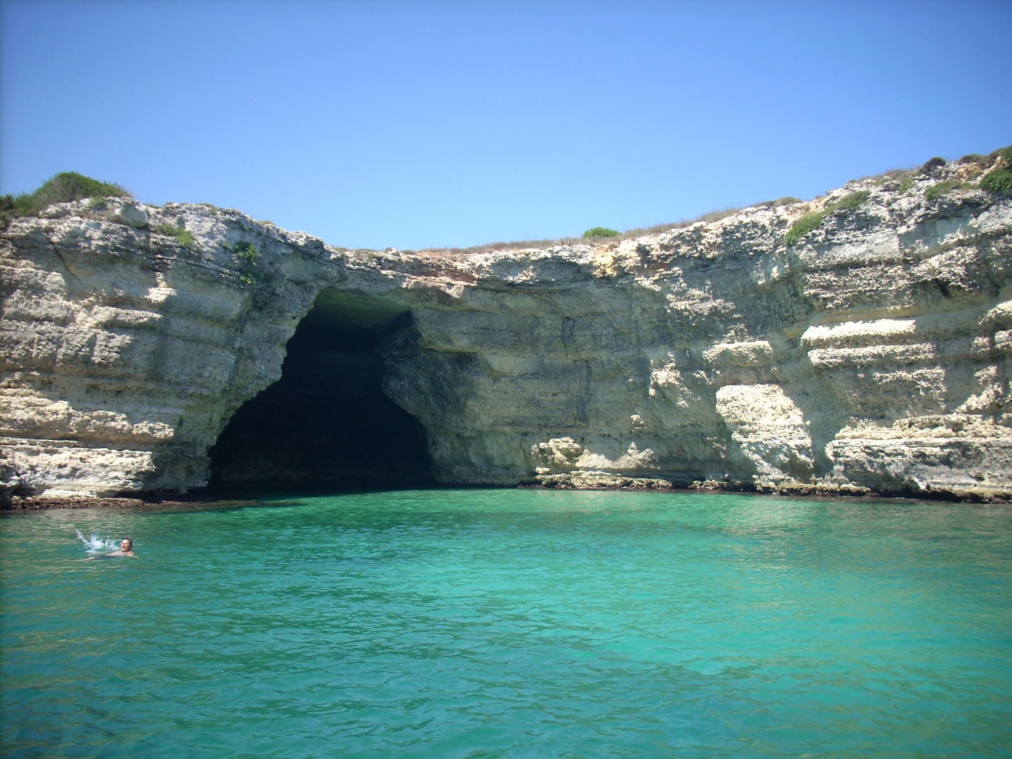 splendide gite in barca sulla costa di Otranto