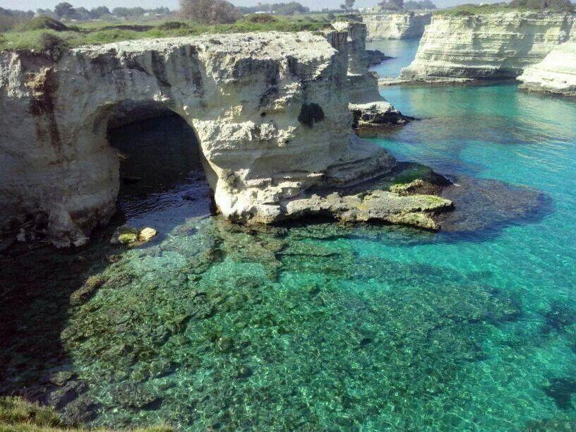 mare cristallino di Sant'Andrea (marine di Melendugno - Lecce)