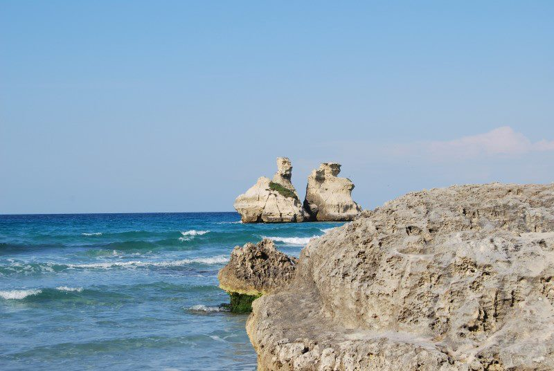 mare a Torre dell'Orso in Salento