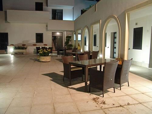 Particolare terrazzo Residence Castello Otranto, Lecce