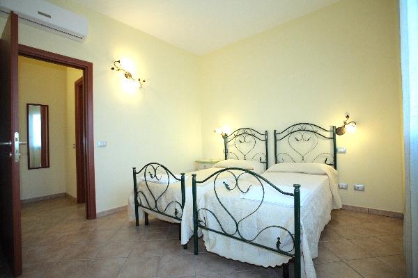camera da letto residence Bellaria, Giurdignano, Otranto, Lecce