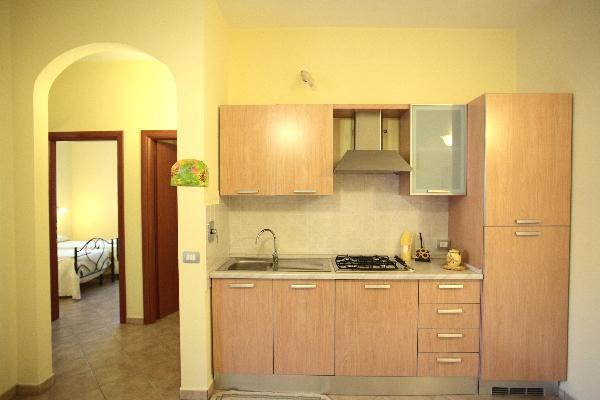 angolo cottura appartamento residence Bellaria, Giurdignano, Otranto, Lecce