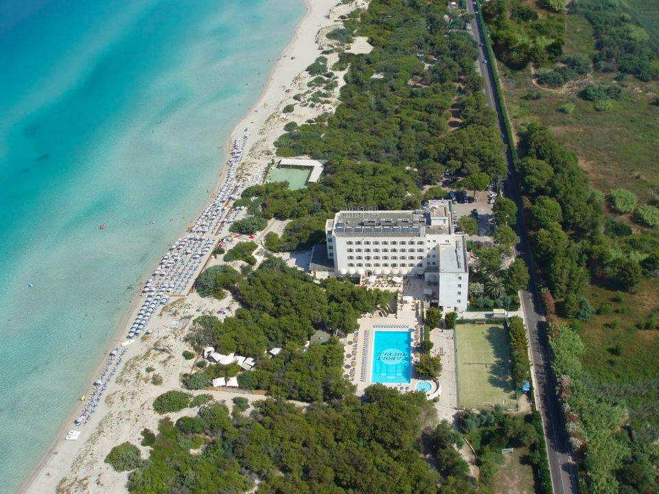 Hotel di lusso sulla spiaggia in Puglia