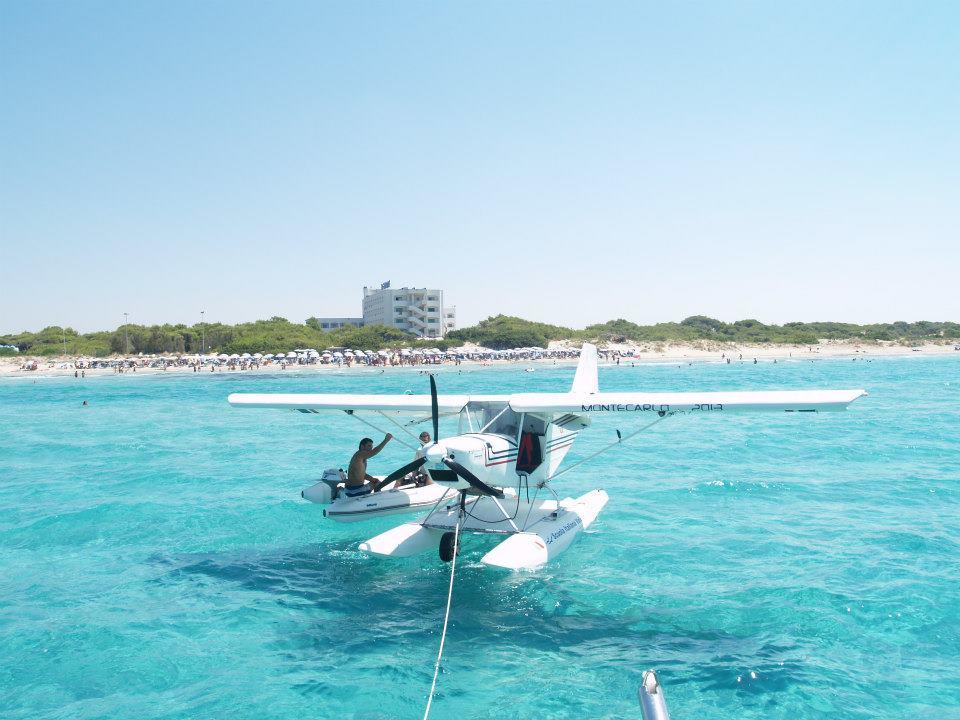 voli con aerei ultraleggeri nel Salento