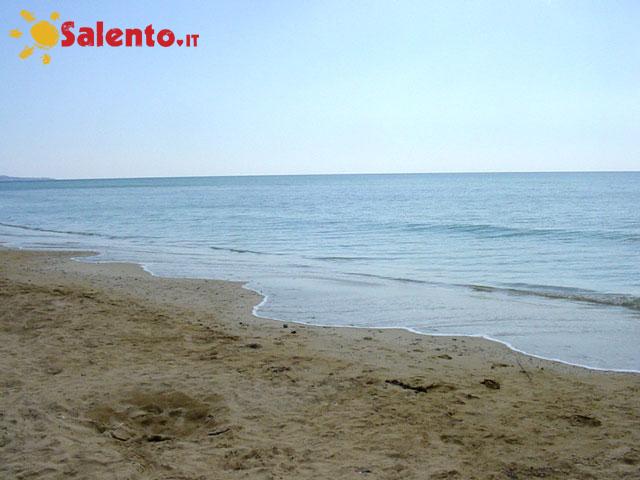 Spiaggia di Pescoluse salve, Lecce