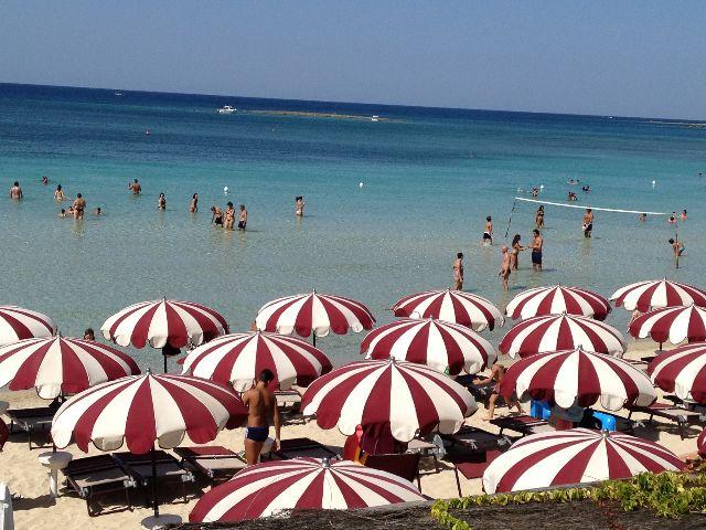 Spiaggia Hotel Conchiglia Azzurra Porto Cesareo, Lecce