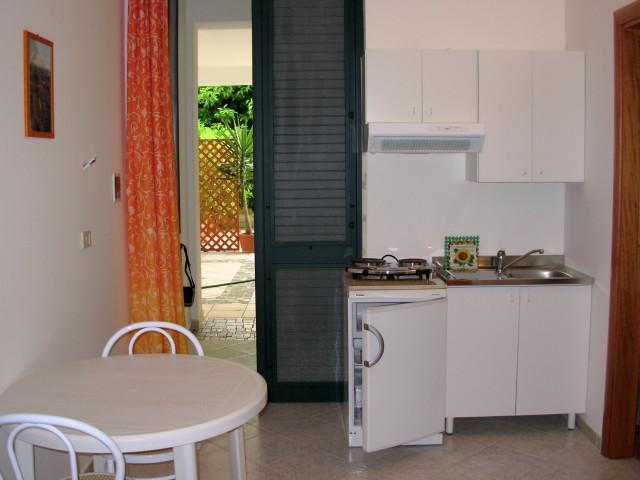 Cucina su veranda Residenza da Toni Castro,Lecce