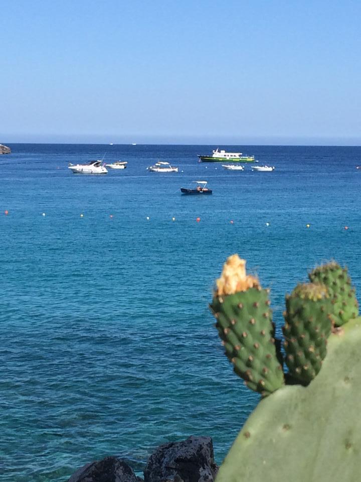 gite in barca nel mare di Castro marina (Lecce)