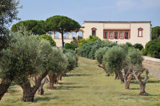 Esterno Villa Donna Isabella Gallipoli Lecce