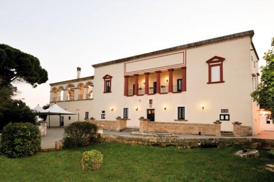 Facciata Villa Donna Gallipoli Lecce