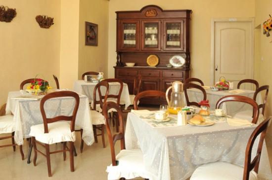 Saletta colazione Villa Donna Isabella Gallipoli Lecce