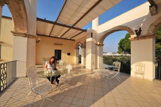 Terrazza panoramica Villa Donna Isabella Gallipoli Lecce