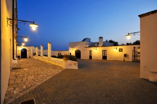 Cortile Villa Donna Isabella Gallipoli Lecce
