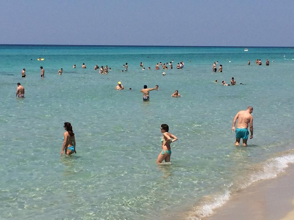 mare di Gallipoli nei pressi di Sannicola (Lecce)