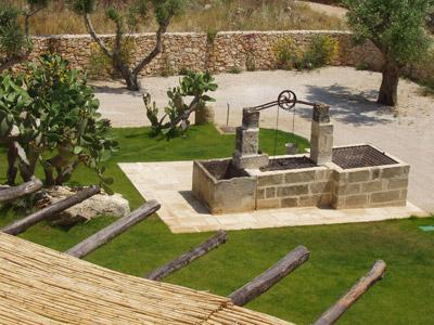 Particolare Giardino Antico Frantoio Resort Gallipoli, Lecce