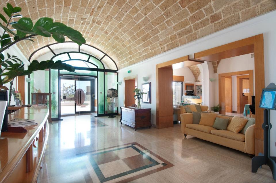 Hall Hotel Mediterraneo Santa Cesarea Terme, Lecce