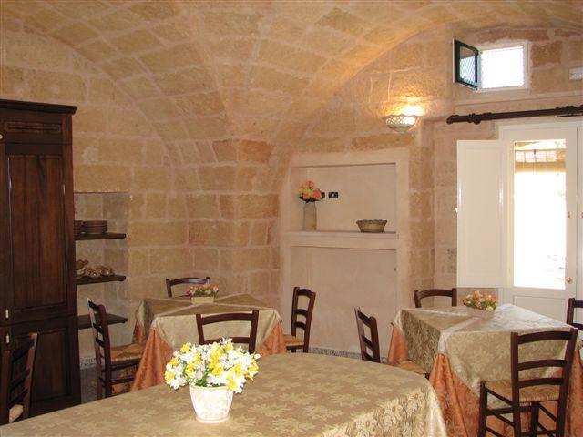 Sala Colazione B&B La vecchia Corte Tricase, Lecce