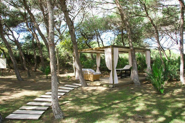 relax nella pineta di Hotel Ecoresort le Sirenè a Gallipoli