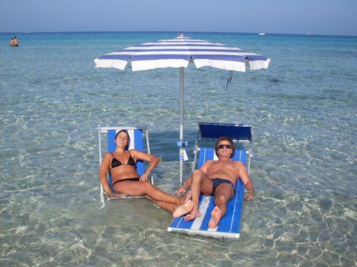 tranquille vacanze di coppia a Gallipoli nel mare di Puglia