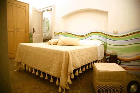 Camera matrimoniale B&B Palazzo Briganti Racale, Lecce