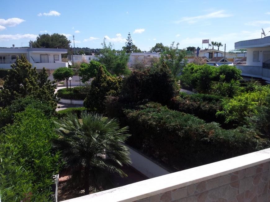 Vista dal balcone esterno