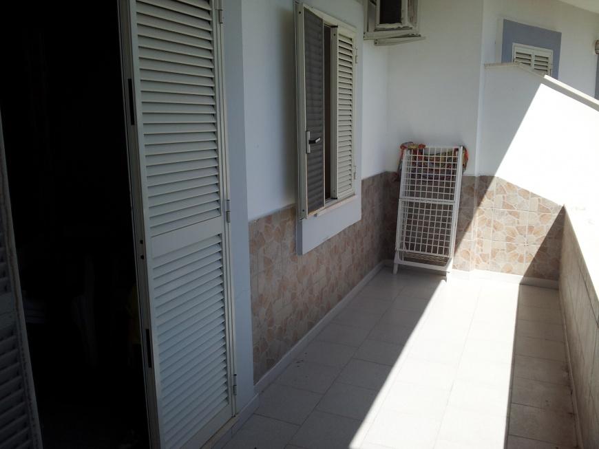 Balcone esterno per mangiare all aperto