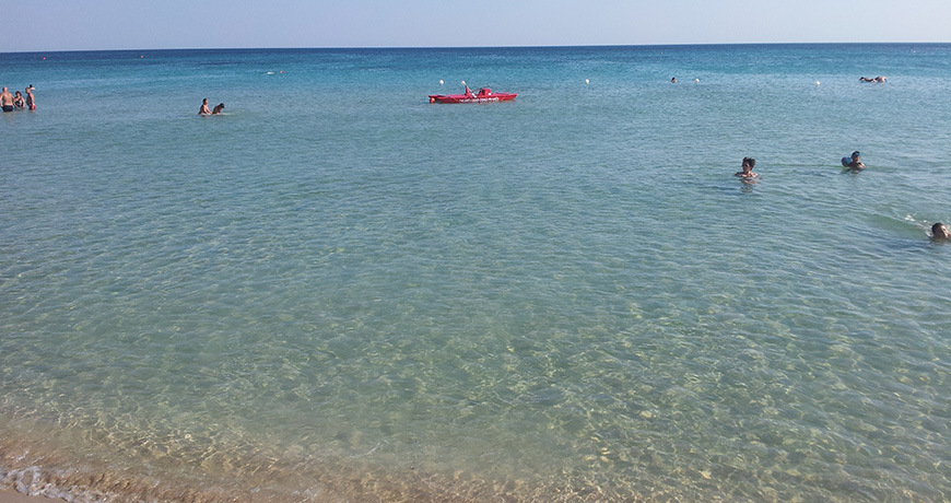 Spiaggia di Lido Marini (Puglia)