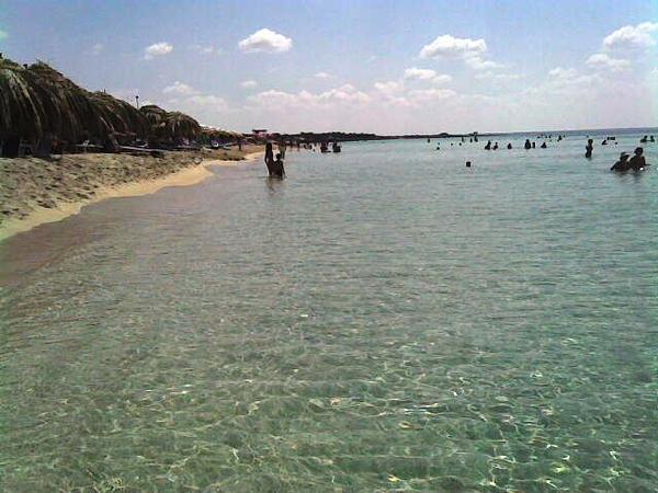 Spiaggia e mare Eurovillage Torre Lapillo