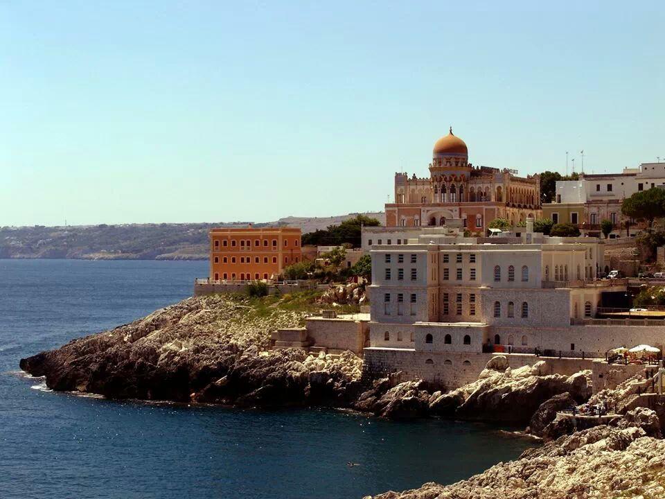 vista panoramica di Santa Cesarea Terme (Lecce)