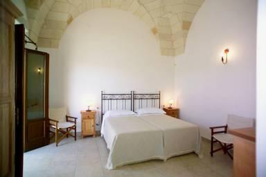 Camera matrimoniale Masseria Limbitello Melendugno, Lecce
