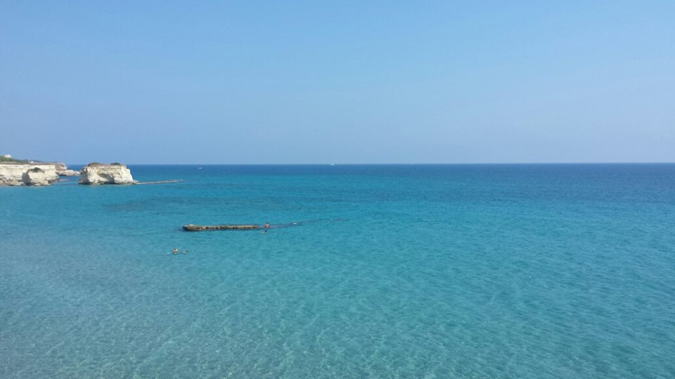 scoprire le scogliere di Otranto in vacanza nel trilocale in affitto