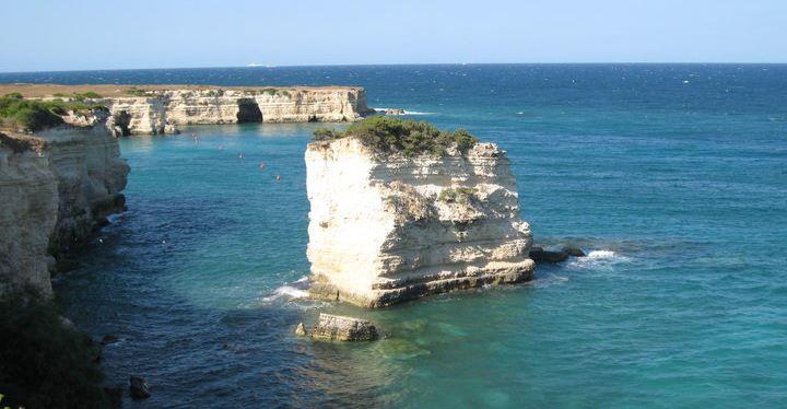 costa adriatica pugliese fra Torre dell'Orso e Otranto