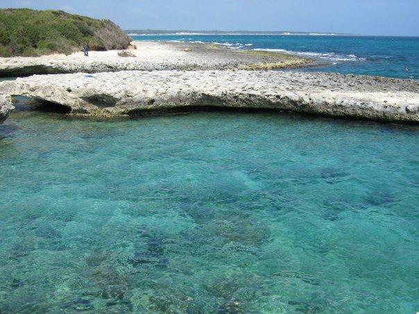 Mare della costa adriatica di Otranto