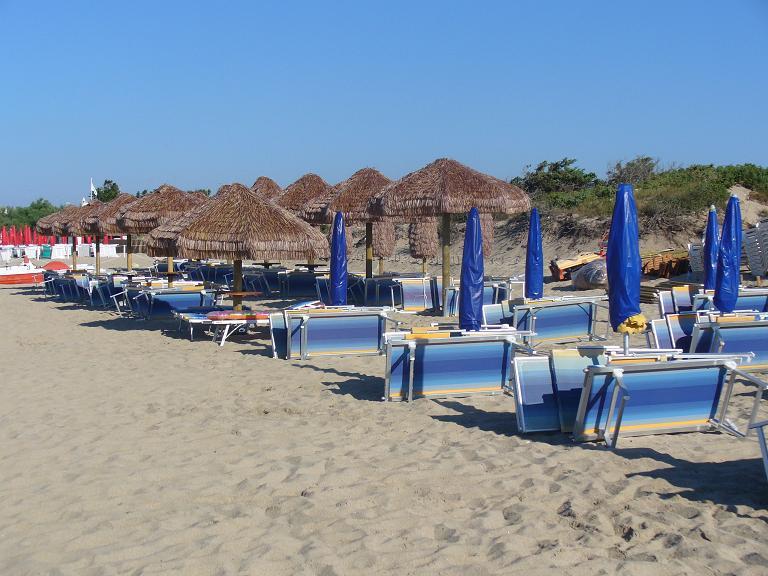 Tratto della Spiaggia Baron Beach Porto Cesareo, Lecce